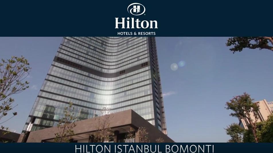 Hilton Istanbul Bomonti Hotel & Conference Center, Digilog Ses Kayıt Sistemi Projesi